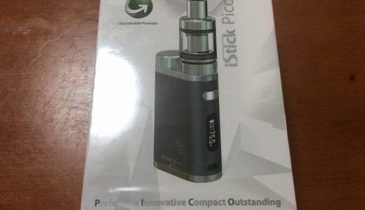 【レビュー】初心者におすすめのEleaf iStick Pico(ピコ)を紹介|口コミや評判、実際に使ってみた【電子タバコ】